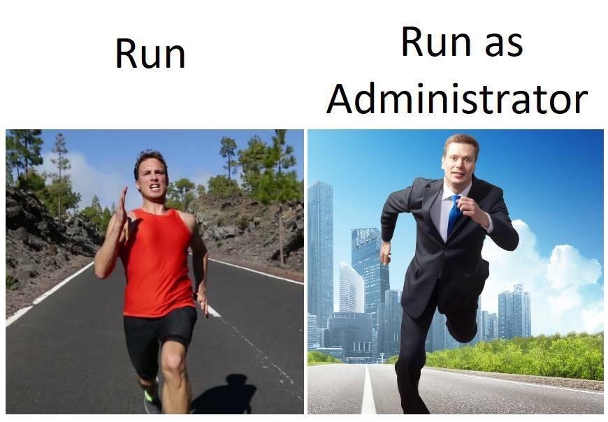 Não traduzi, pq a piada funciona melhor em inglês - meme