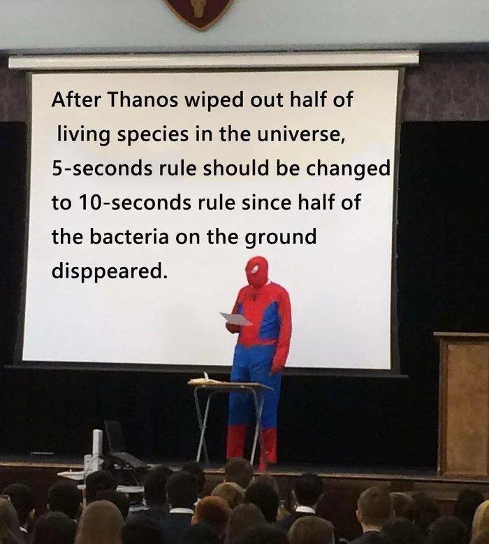 10-seconds rule - meme