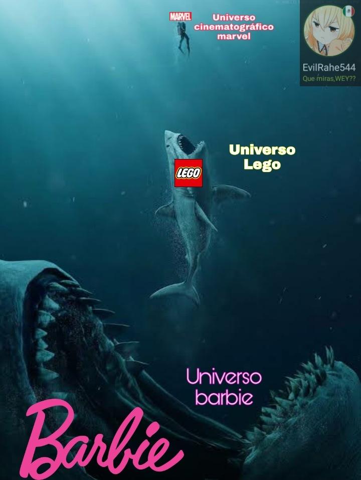 Siempre hay un pez mas grande - meme