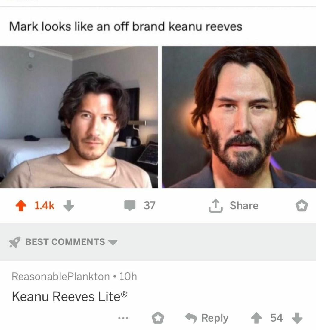 Mark lite - meme