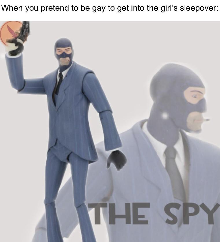 The Spy - meme
