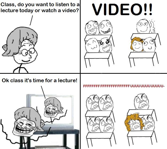 Problem, class? - meme