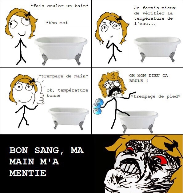 Le Bain - meme