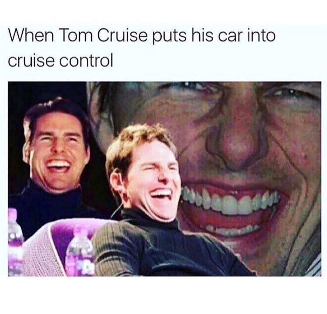 let's cruise away - meme