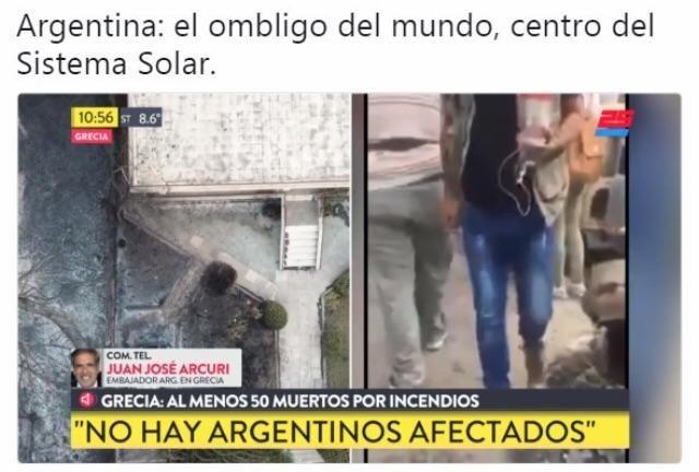 Se mueren millones pero si no son argentinos a quien le importa - meme