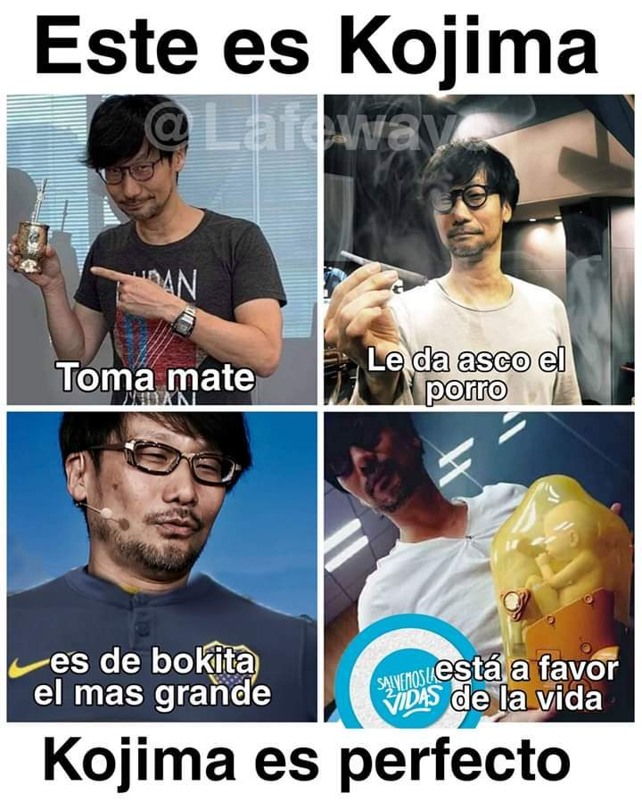 kojima - meme