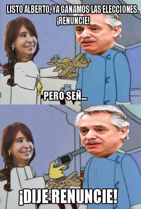 Cristina presidente - meme