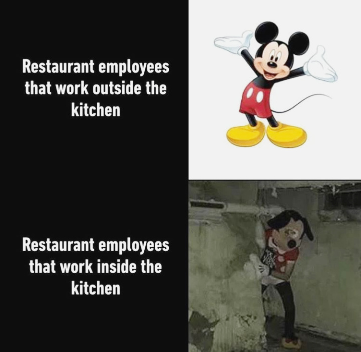 They secretly hate you and spit on your food :) - meme