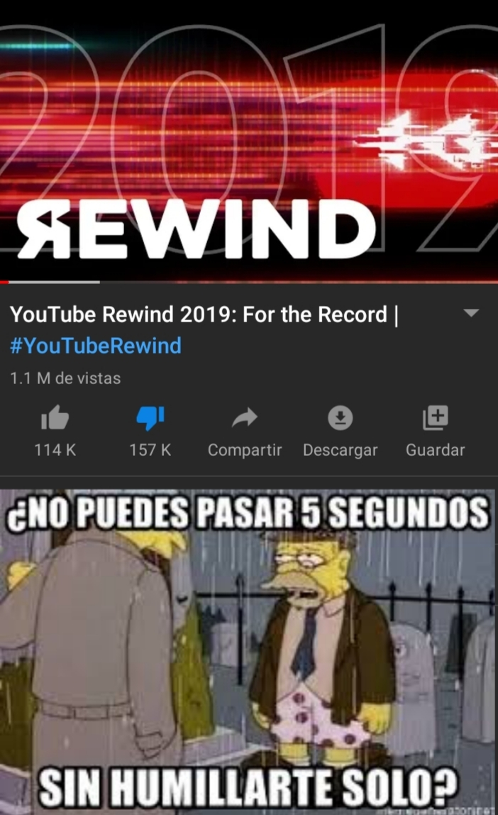 Estupido youtube - meme