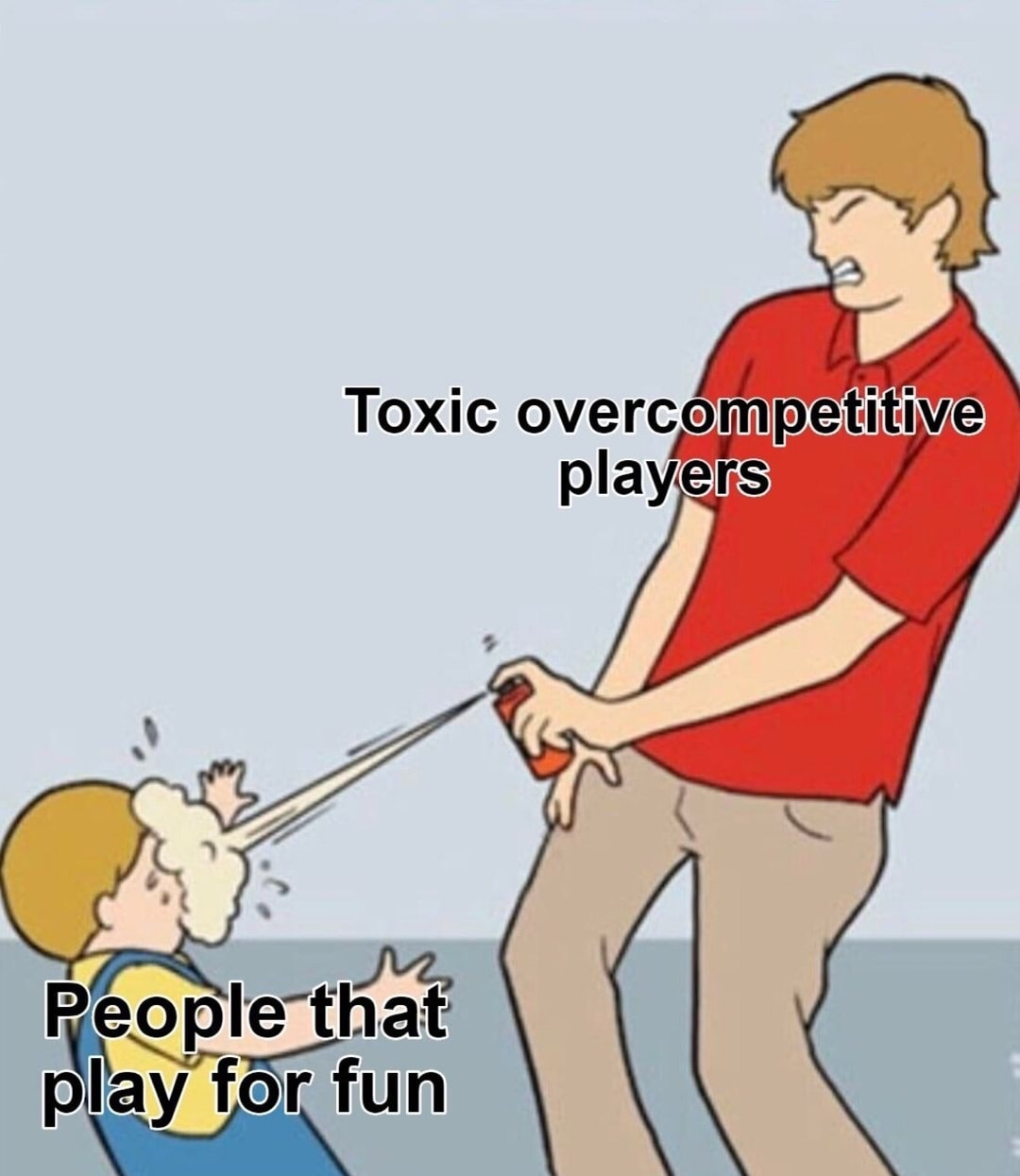 toxic vs fun - meme