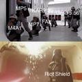 MW Riot Shield O.P.