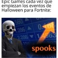 Re buenos los eventos de Halloween para Fortnite