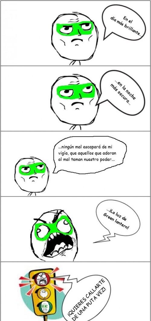 Green lantern - meme