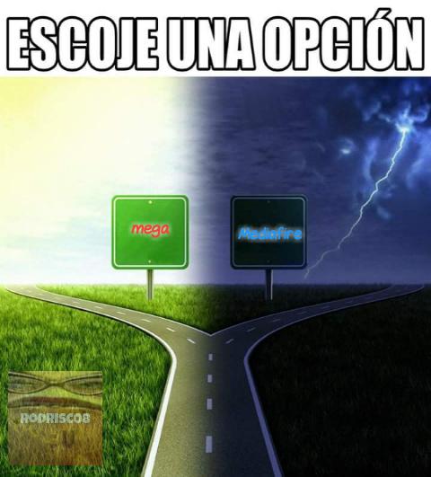 Yo uso mas mediafire - meme