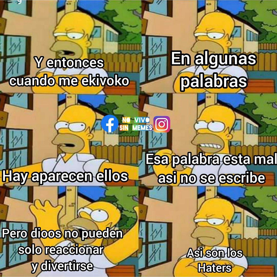 Señores Haters - meme