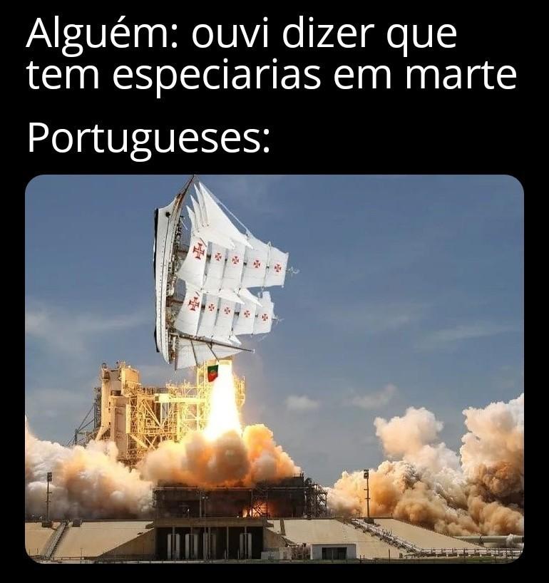 Se tiver ouro e pau Brasil eles serão os primeiros a colonizar - meme