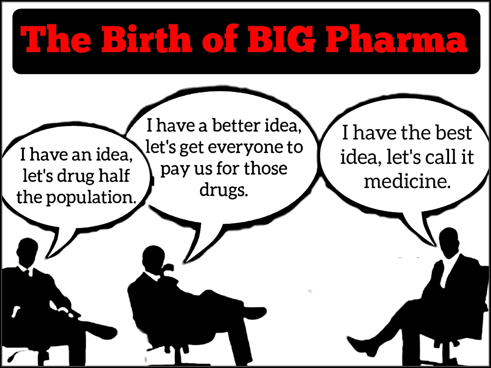 Big Pharma Truth - meme