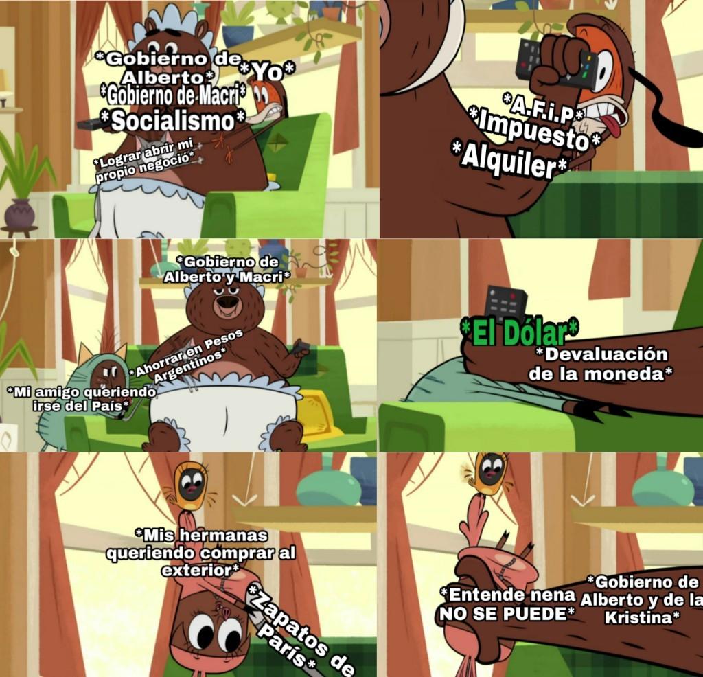 Hoy decidí NO hacer ningún meme AntiFurry y en su lugar hice uno inspirado en mi lugar de origen en Argentina. Pd: En Instagram estará la versión completa