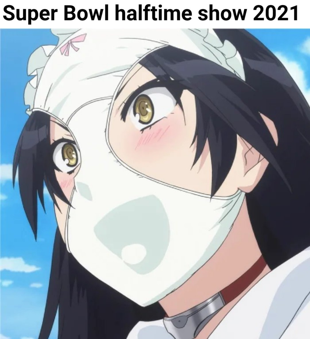 Super Bowl 2021 halftime was like - meme
