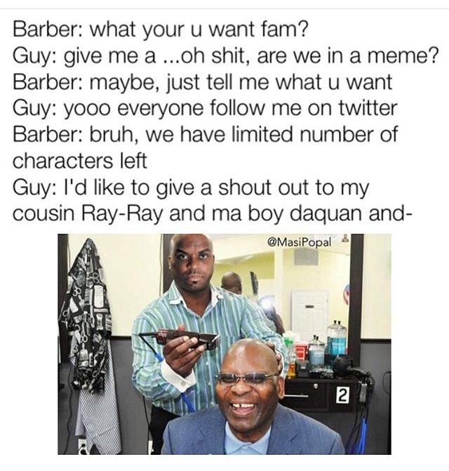 haircuts - meme