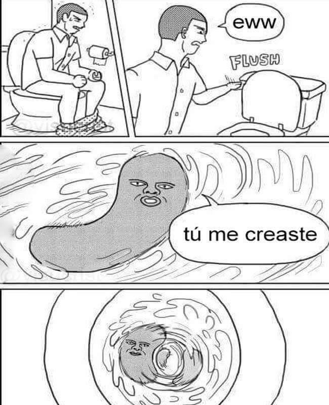 Tu lo hiciste - meme