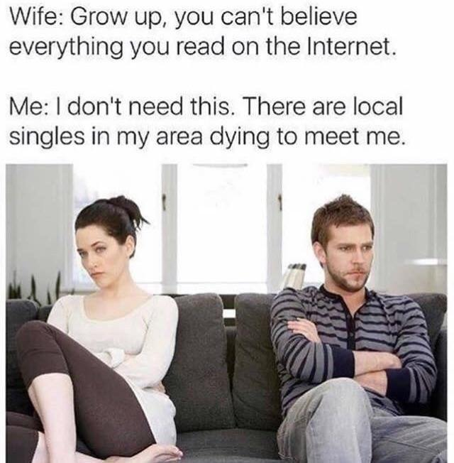 Local singles in your area - meme