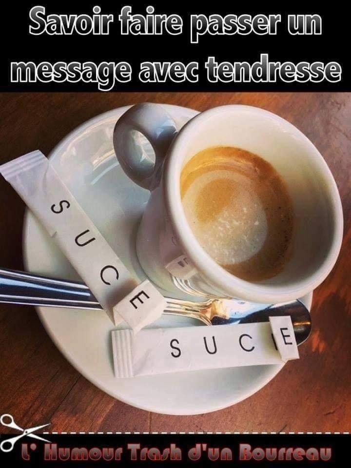 J'aime le café - meme