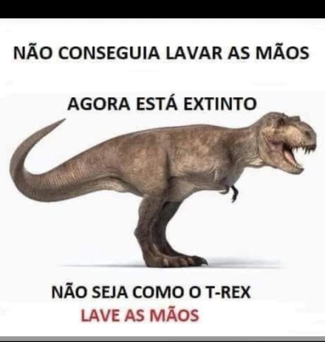 Nai seja um T rex - meme