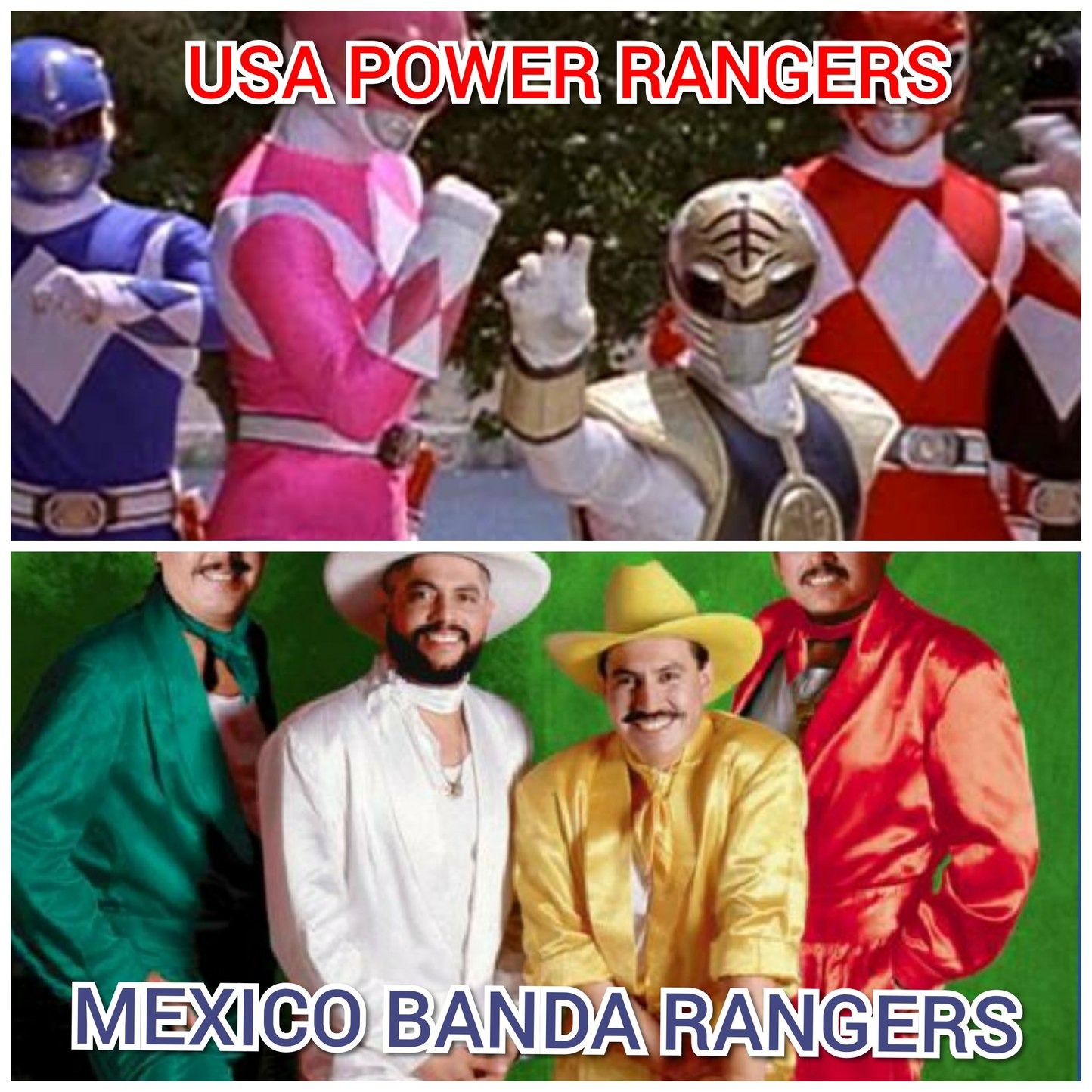 What's your favorite ranger - meme