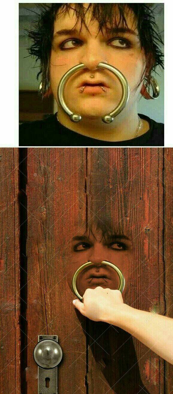 Knock knock - meme