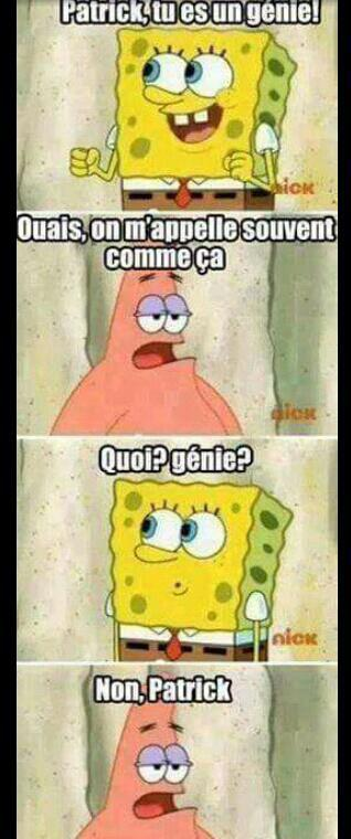 Sacré Patrick ! - meme