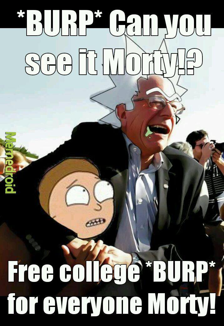 Bernie sanchez - meme