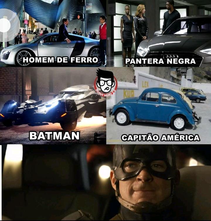 Capitão América... - meme