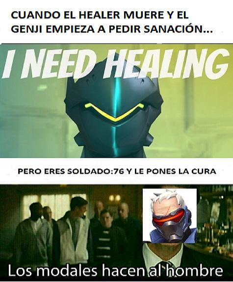 I need healing! - meme