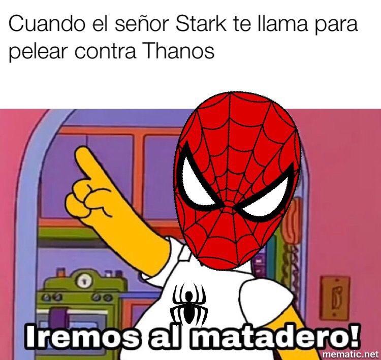 La verdad de Infinity War - meme