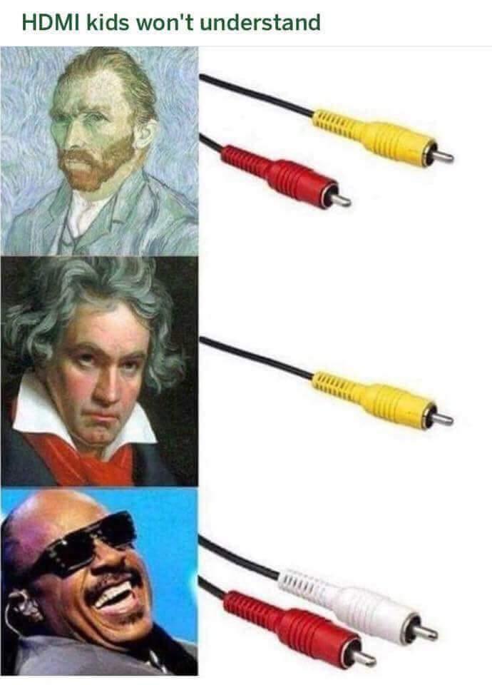 dongs in an av cord - meme