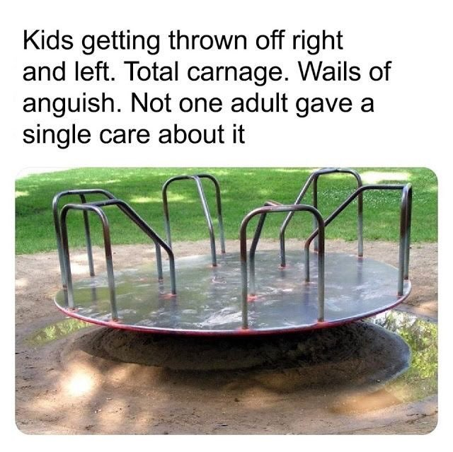 playground rules - meme
