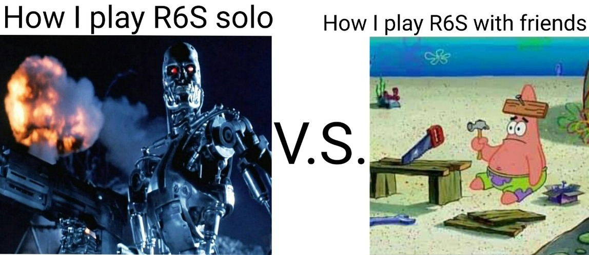 Any y'all play rainbow six seige? - meme