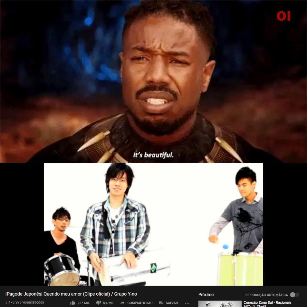 JAPONES CANTANDO PAGODE É MELHOR QUE K-POP - meme