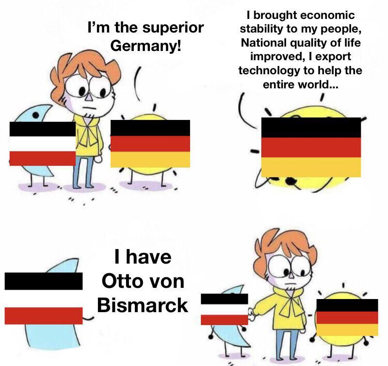 Germen Empire is better then germany - meme