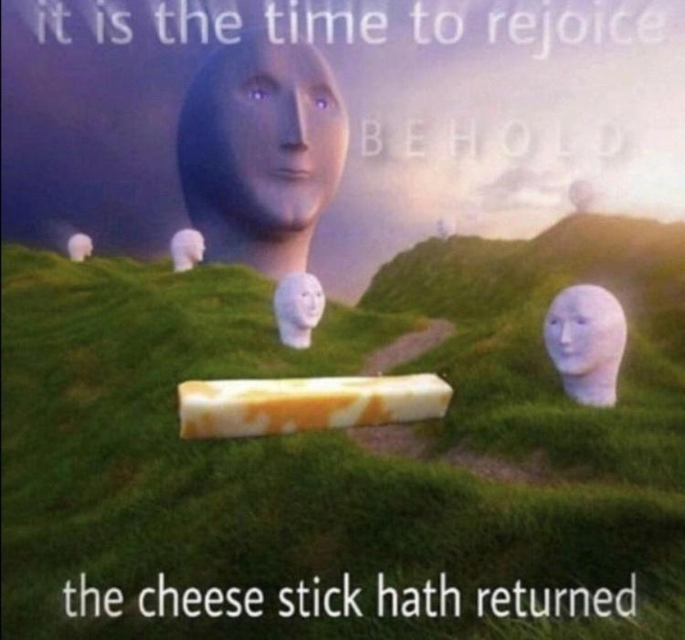 rejoice - meme
