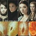 Arya will be like Sansa this season