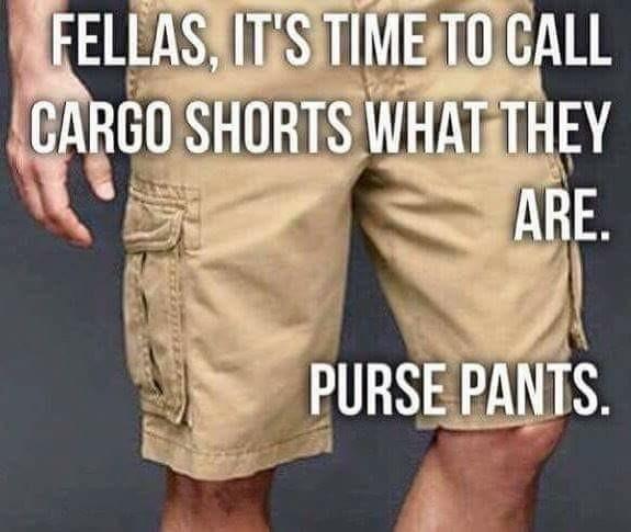 Love my purse pants - meme