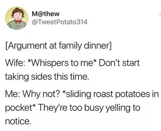Family Dinners - meme