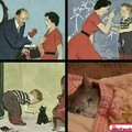 Não tinha nenhum rato perto pra ele xingar :'(