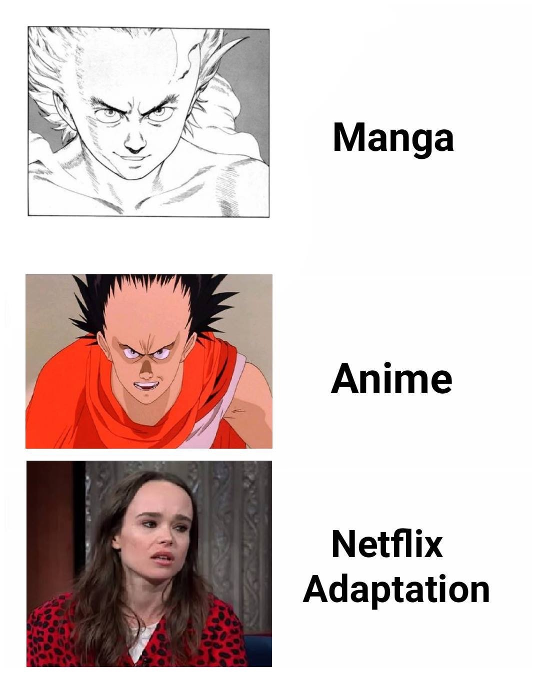 dongs in an adaptation - meme
