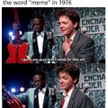 I had no idea the word MEME was that old!