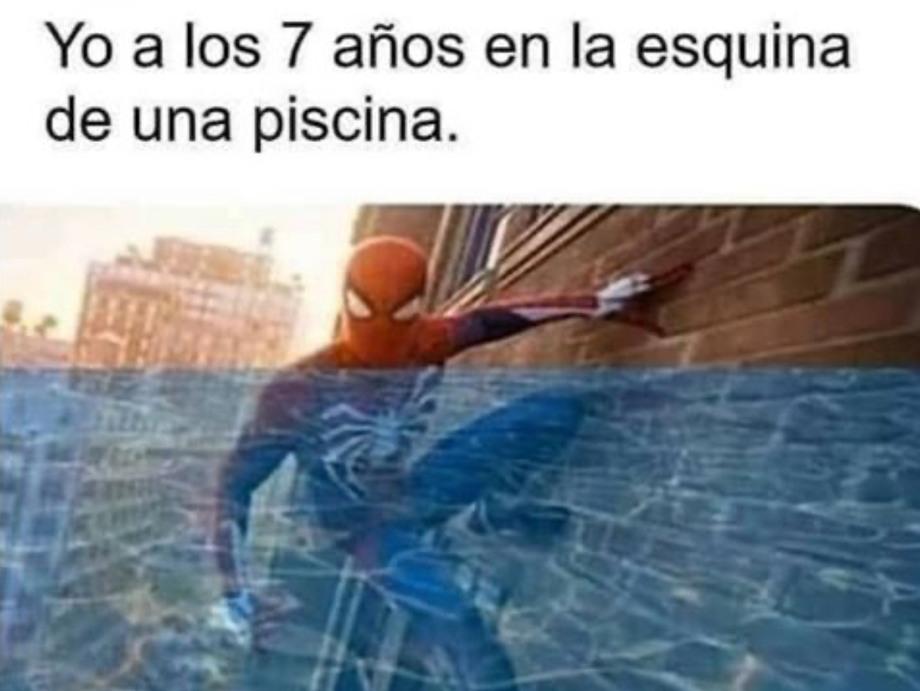 Me sentía como Spiderman - meme