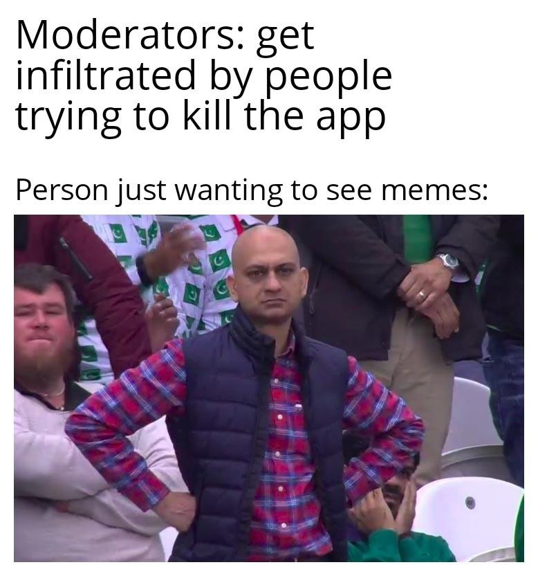 Purge the sickness - meme