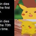 krillin dies to much